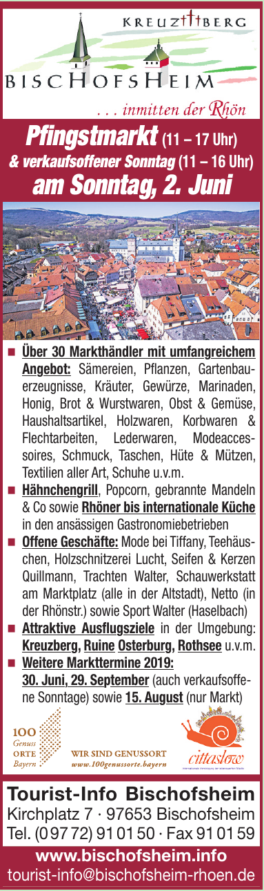 Tourist-Info Bischofsheim