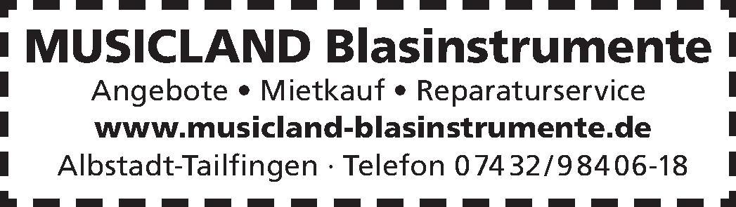 Musicland Blasinstrumente