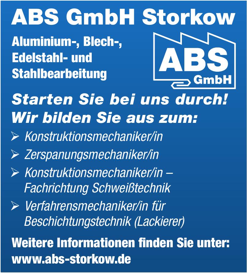 ABS GmbH Storkow Aluminium-, Blech-, Edelstahl-, Stahlbearbeitung