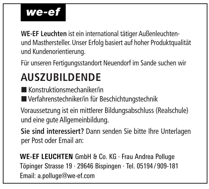 WE-EF Leuchten GmbH & Co. KG