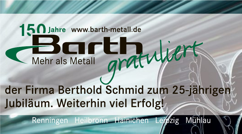 Barth Mehr als Metall