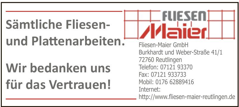 Fliesen-Maier GmbH