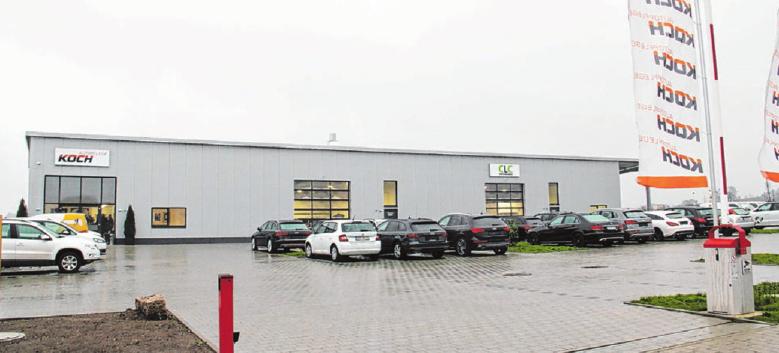 Das Unternehmen baut seinen Crailsheimer Standort im Industriegebiet im Rotebachring auf.Foto: Marius Stephan