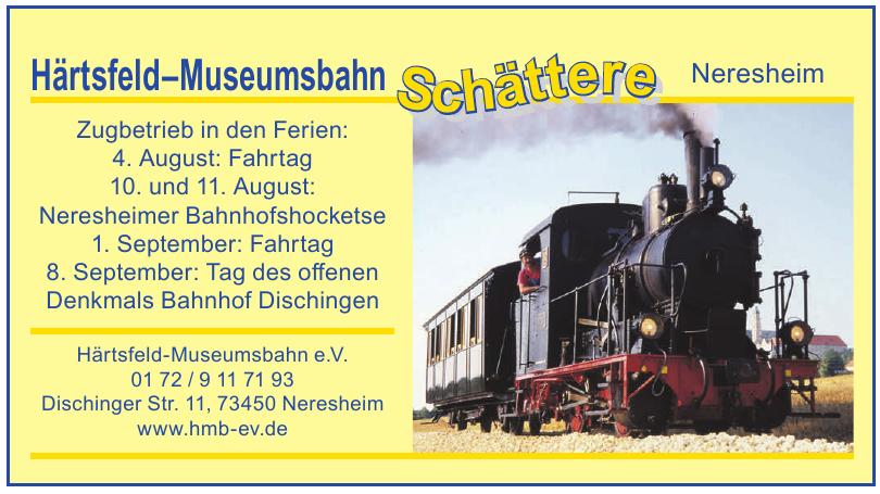 Härtsfeld-Museumsbahn e.V.