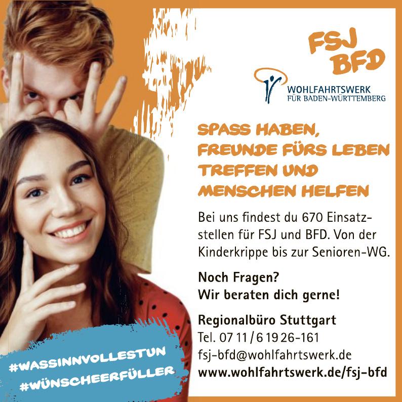 BFD Wohlfahrtswerk für Baden-Württemberg
