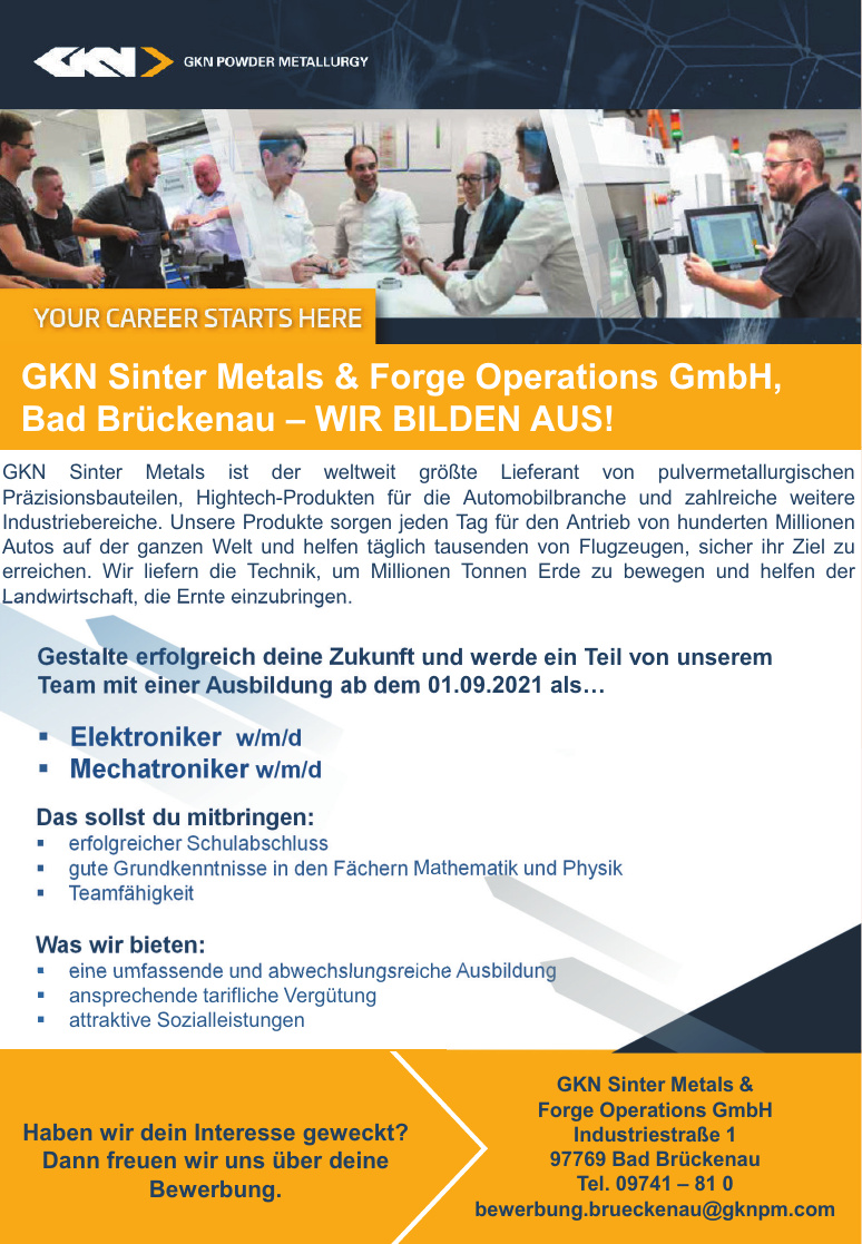 GKN Sinter Metals & Forge Operations GmbH
