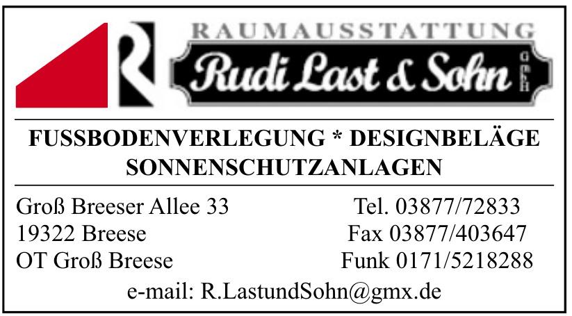 Raumausstattung Rudi Last & Sohn GmbH