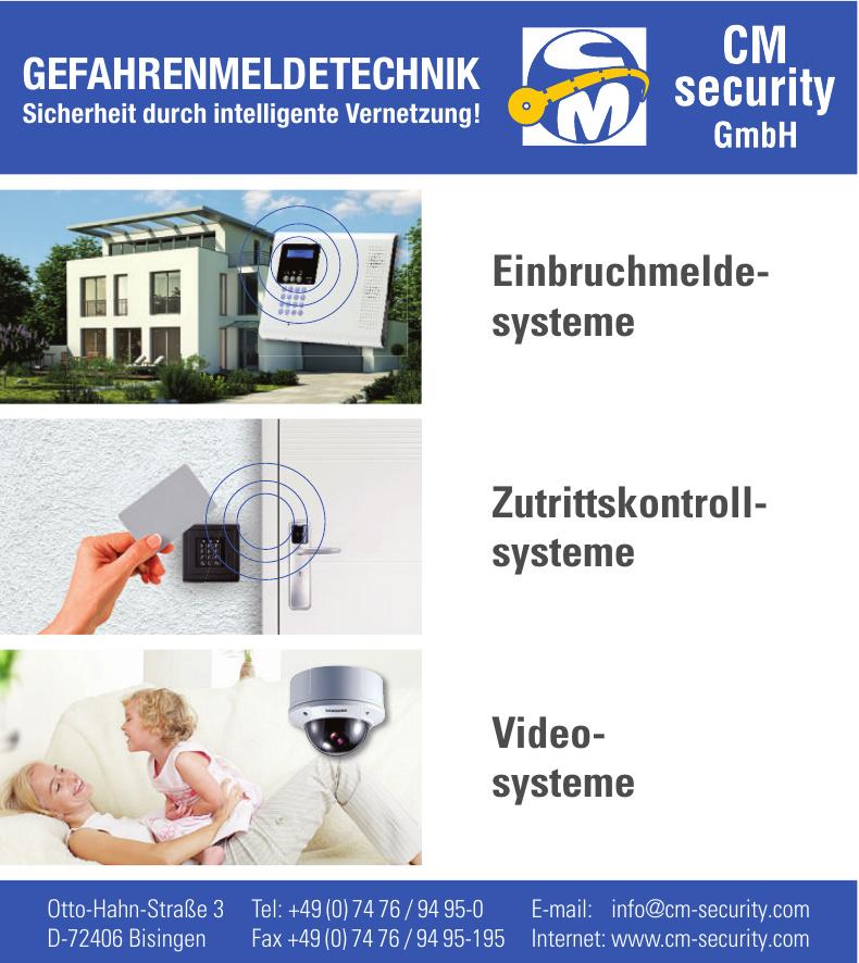 CM sedurity GmbH & Co. KG