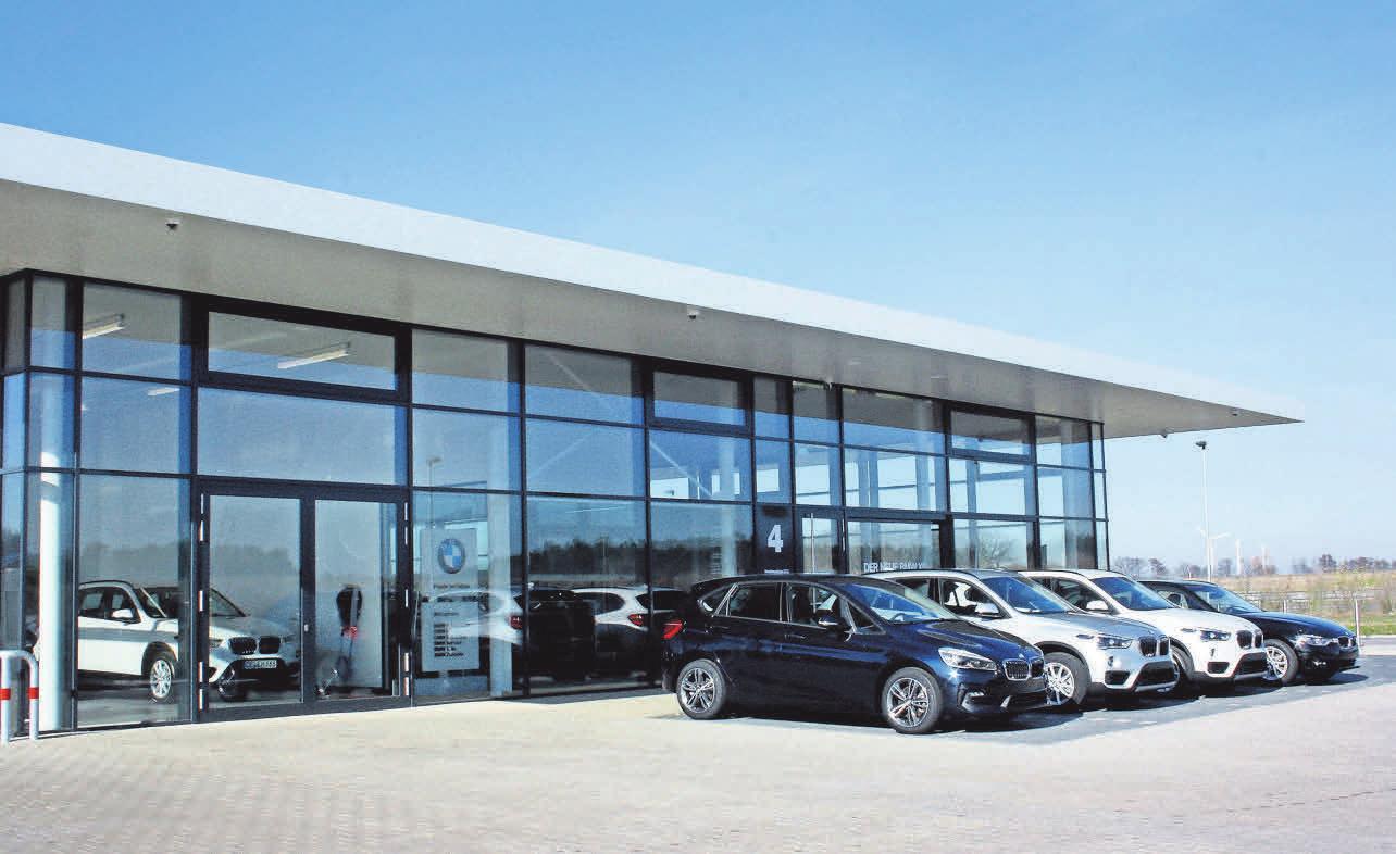 Der BMW-Vertragshändler B&K präsentiert sich und die neuesten BMW-Modelle am 9. und 10. März in den neuen Geschäfträumen des Autohauses an der Lise-Meitner- Straße.