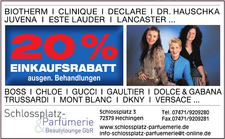Schlossplatz-Parfümerie Beautylounge GbR