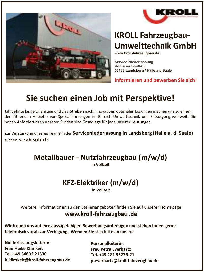 KROLL Fahrzeugbau-Umwelttechnik GmbH