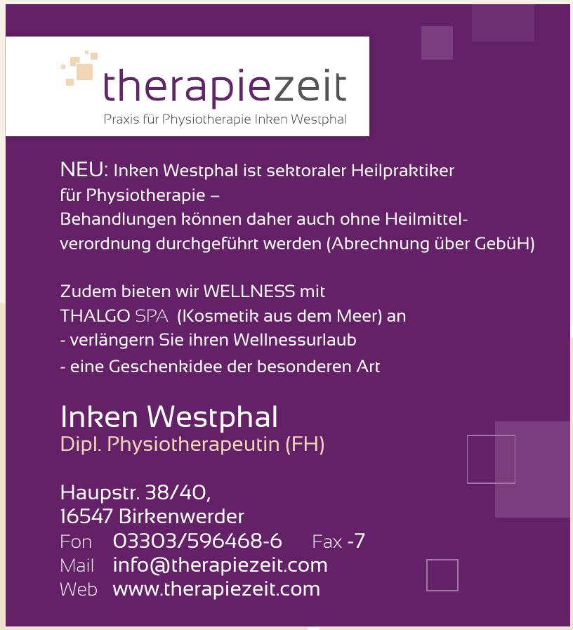 therapiezeit