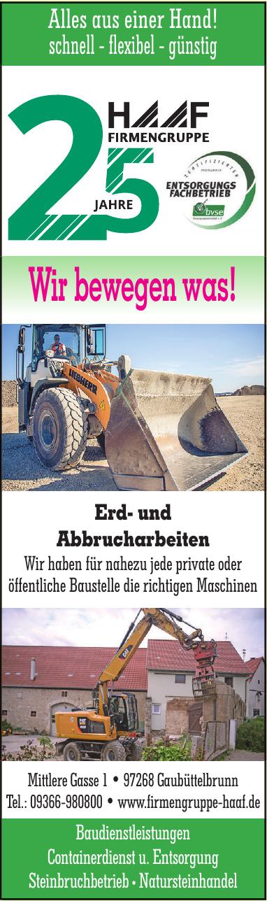 Haaf Baudienstleistungen