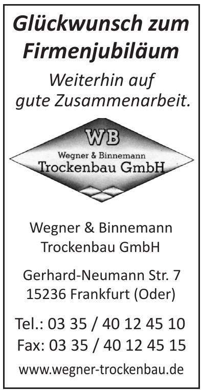 Wegner & Binnemann Trockenbau GmbH