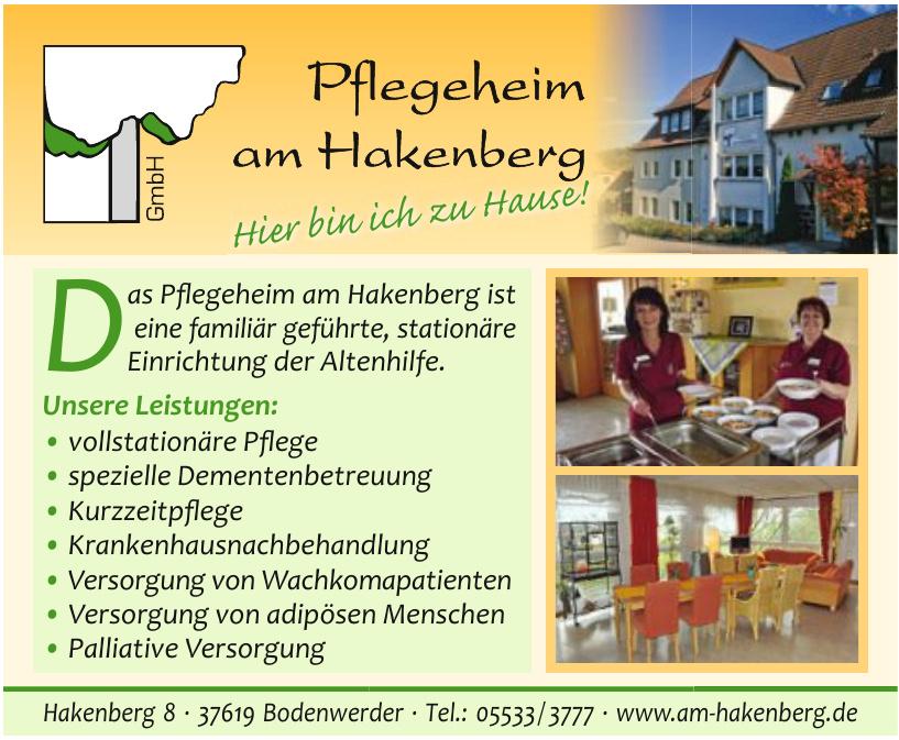 Pflegeheim am Hakenberg GmbH