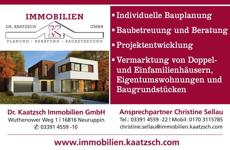 Dr. Kaatzsch Immobilien GmbH