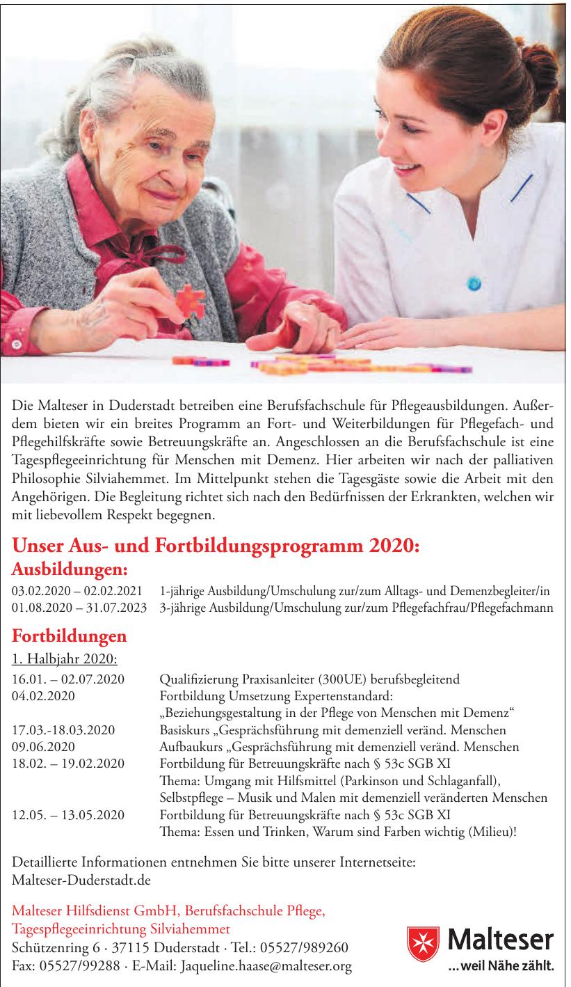 Malteser Hilfsdienst GmbH