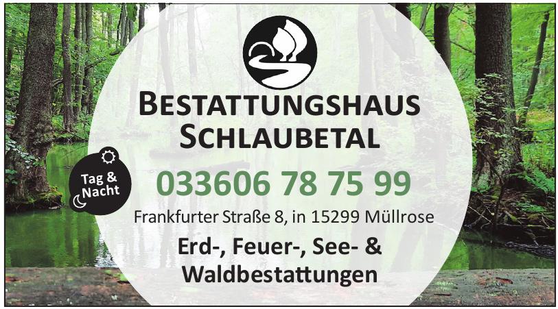 Bestattungshaus Schlaubetal