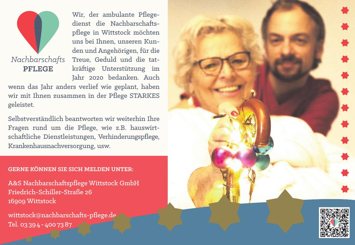 A&S Nachbarschaftspflege Wittstock GmbH