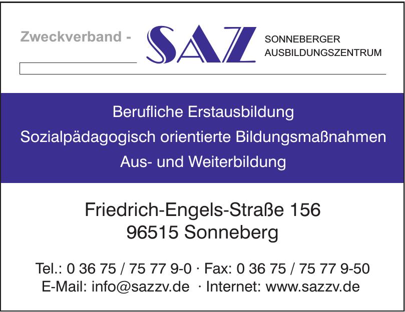 Zweckverband - SAZ - Sonneberger Ausbildungszentrum