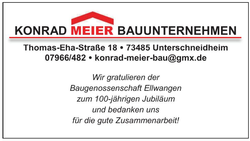 Konrad Meier Bauunternehmen