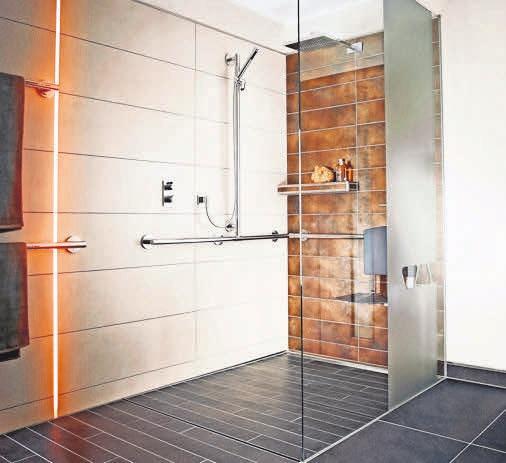 Die bodengleiche Dusche – Designelement mit Wohlfühlfaktor. Foto: easyPR