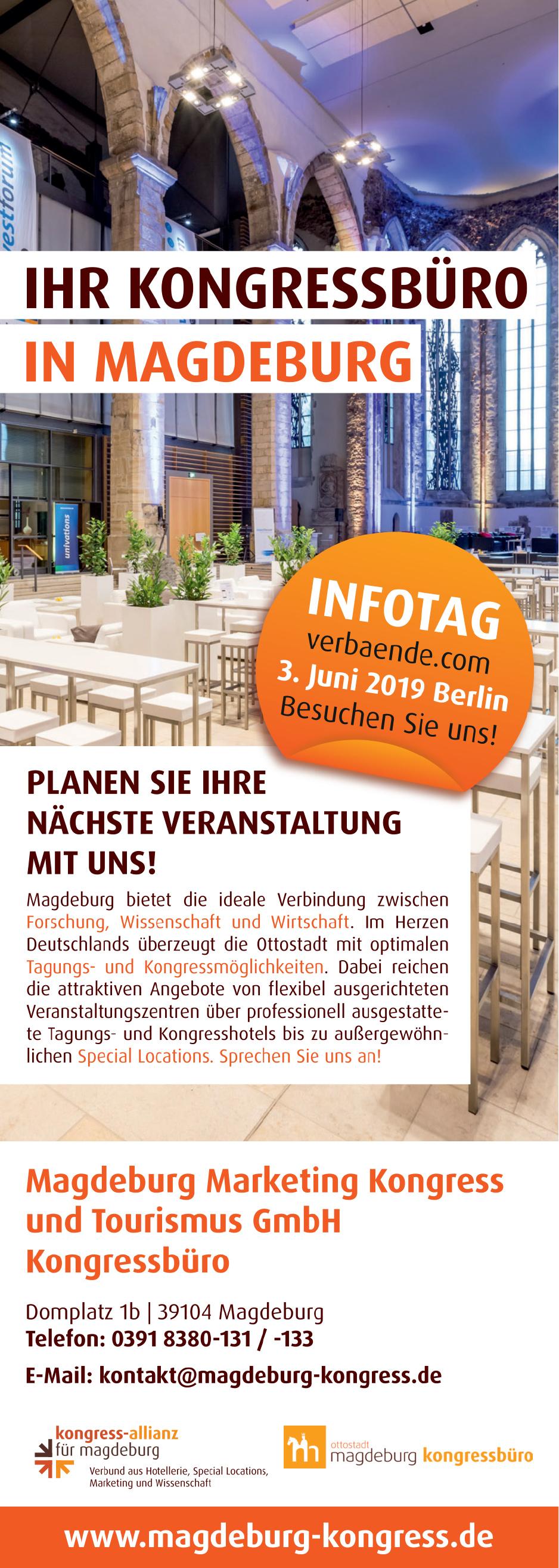 Magdeburg Marketing Kongress und Tourismus GmbH