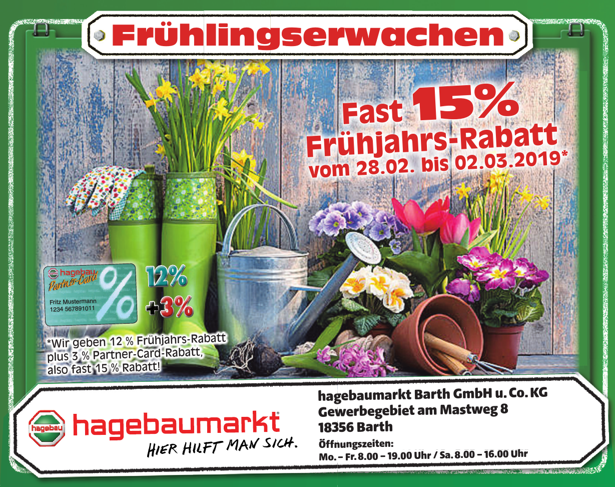 hagebaumarkt Barth GmbH u. Co. KG