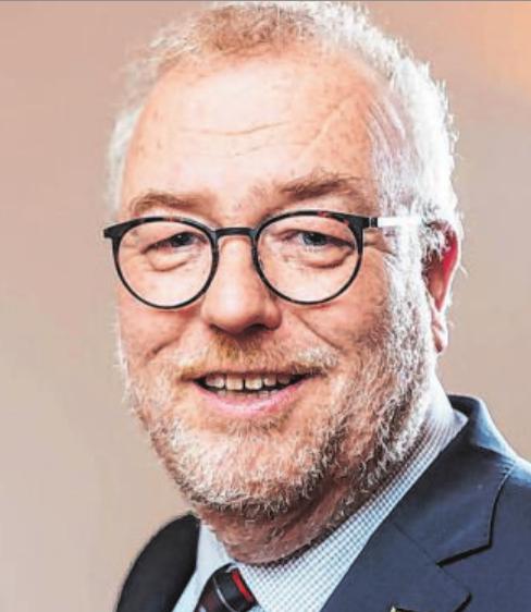 """Bürgermeister Walter Kiß freut sich auf den """"Lichterglanz im Park"""". Foto: Stadt"""