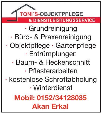 Toni´s Objektpflege & Dienstleistungsservice