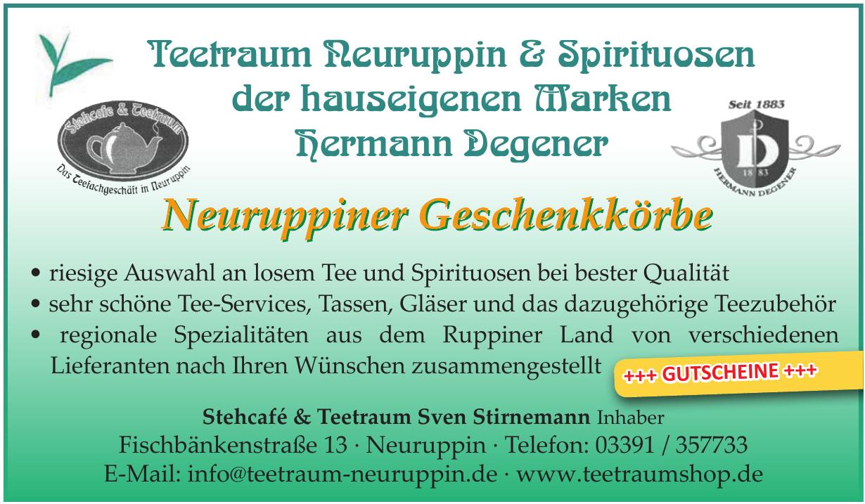 Stehcafé & Teetraum Sven Stirnemann