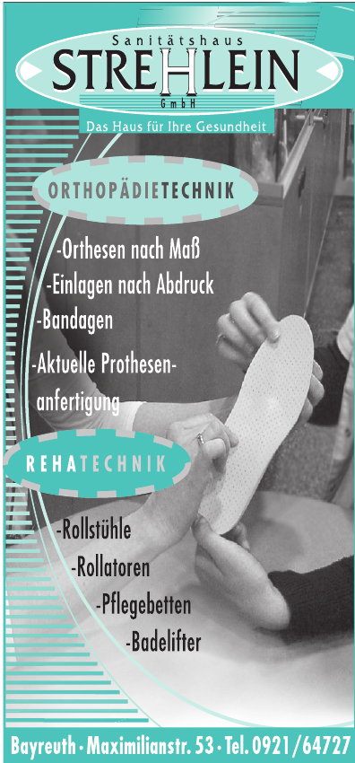 Sanitätshaus Strehlein GmbH