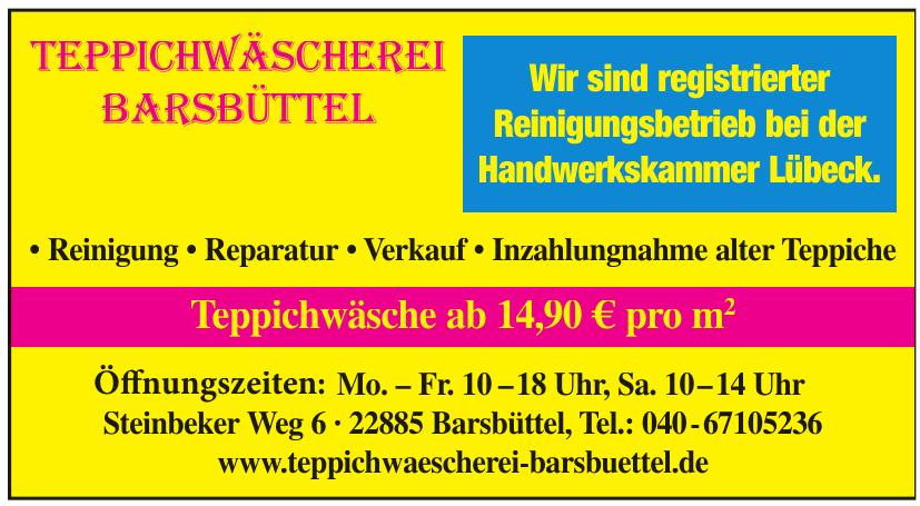 Teppichwäscherei Barsbüttel