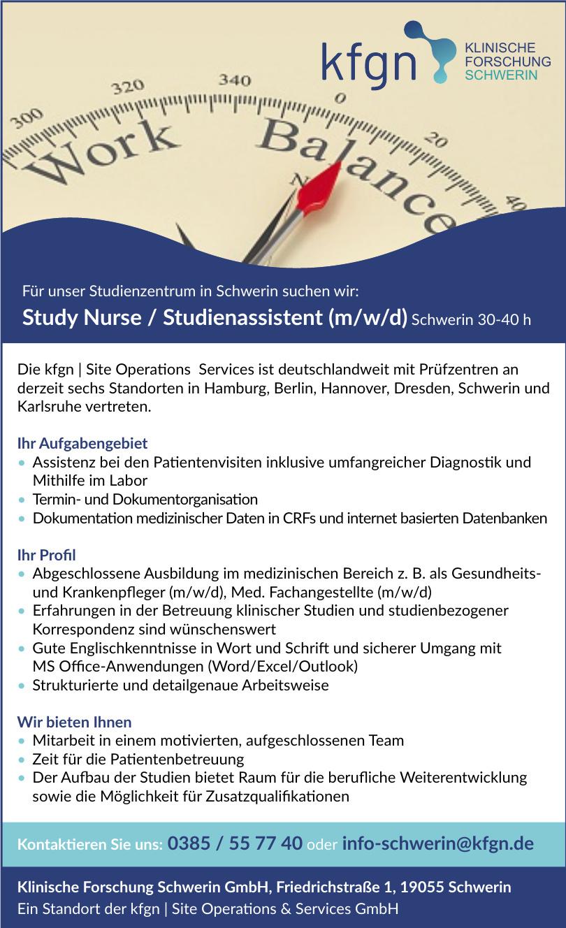 Klinische Forschung Schwerin GmbH