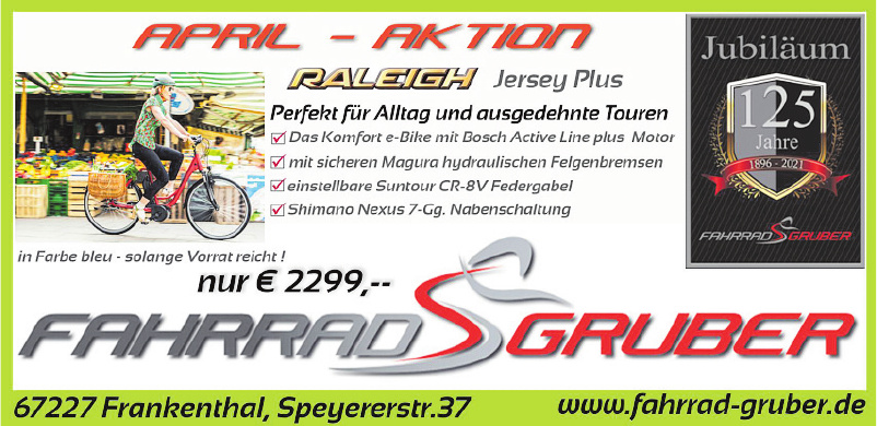 Fahrrad Gruber