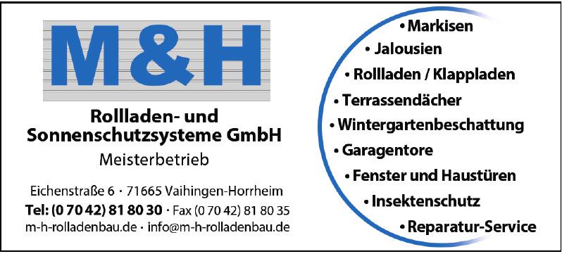 M & H Rolladen- und Sonnenschutzsysteme GmbH