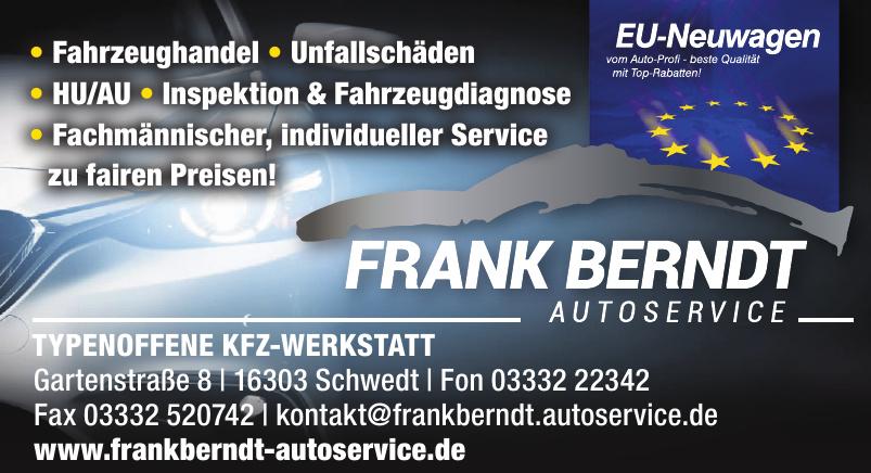 Frank Berndt - Autoservice