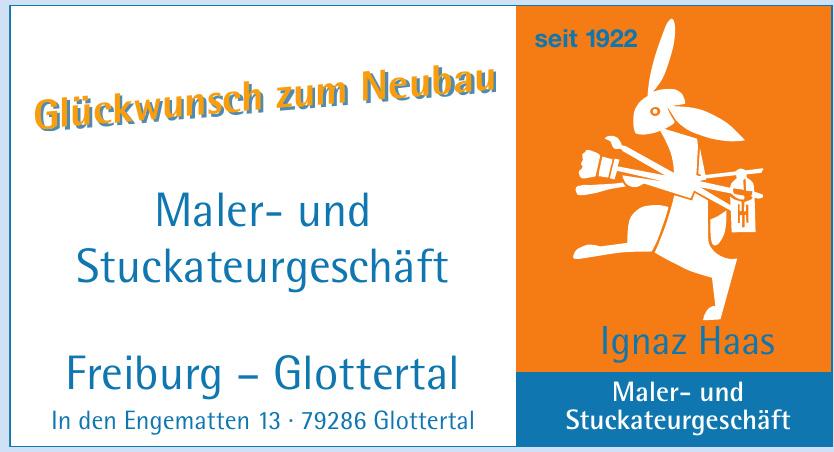 Ignaz Haas Maler- und Stuckateurgeschäft