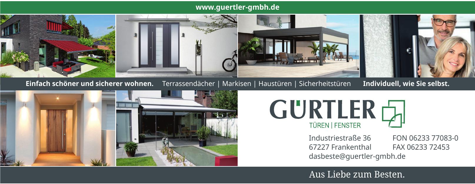 GÜRTLER Türen/Fenster GmbH