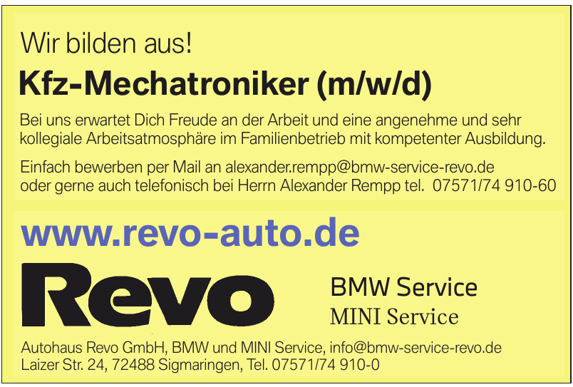 Autohaus Revo GmbH