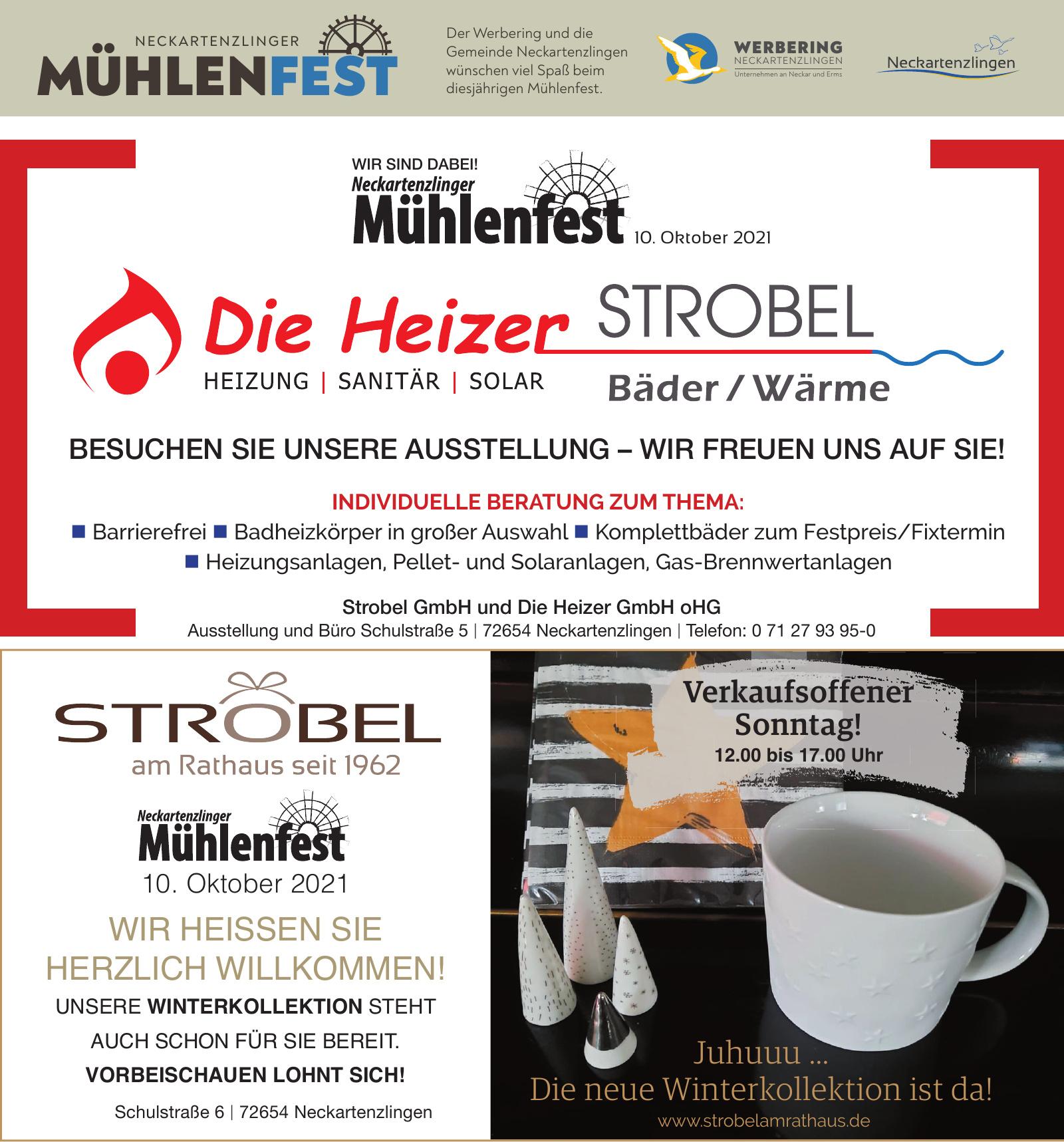 Strobel GmbH und Die Heizer GmbH oHG