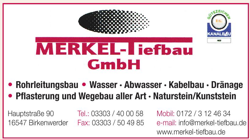 Merkel Tiefbau GmbH