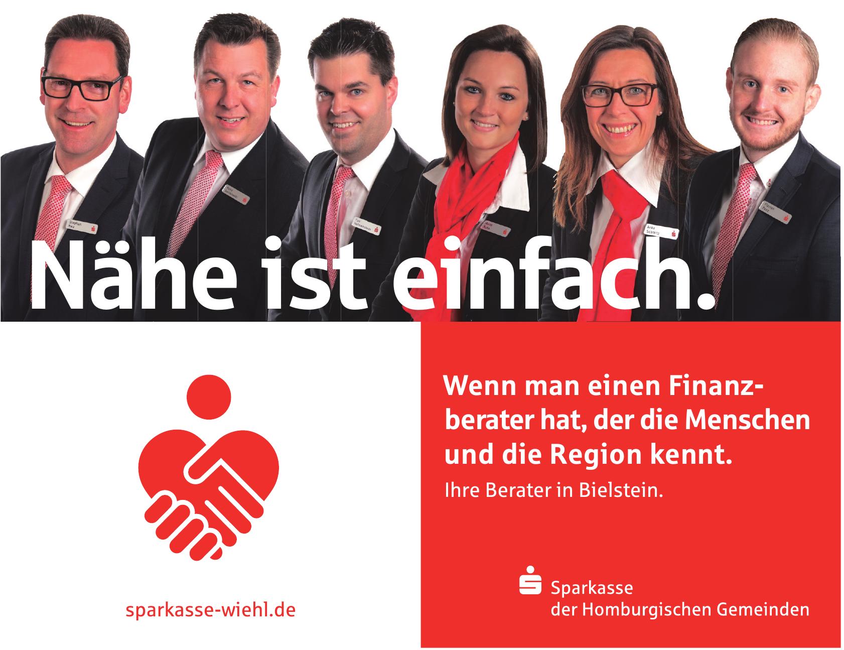 Sparkasse der Homburgischen Gemeinden