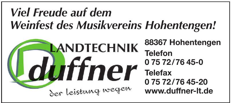 Duffner Landtechnik GmbH+Co.KG