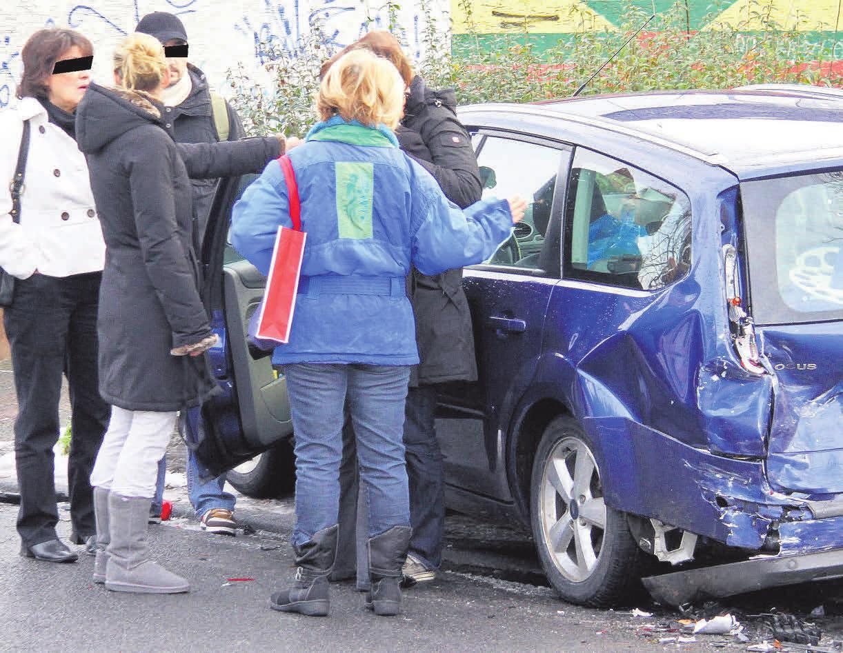 Ein gesundes Misstrauen gegenüber dem Unfallgegner ist angebracht.