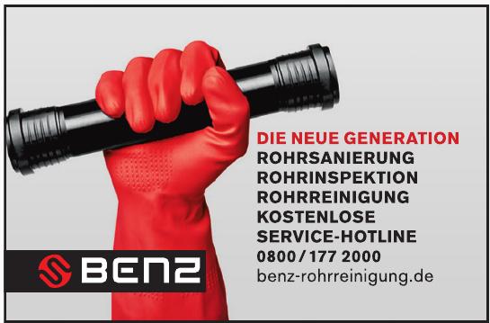 Benz Rohrreinigung