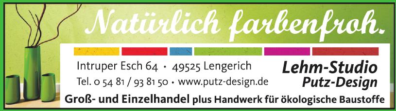Lehm- Studio Putz-Design