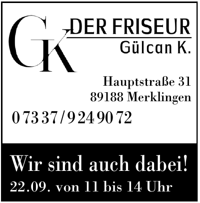 CK Der Friseur Gülcan K.