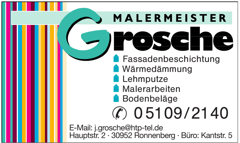 Malermeister Grosche