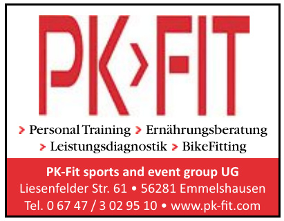 PK-Fit sports and event group UG